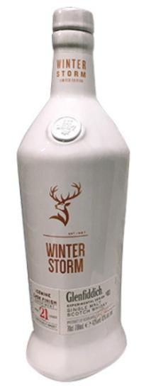 [全国送料無料のお買い得!!] グレンフィデック21年 ウインター ストーム アイスワインカスク フィニッシュ 43度 700ml オリジナル高級化粧品入り