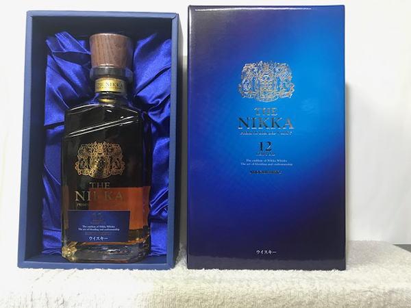 (ニッカウヰスキー・ニッカウイスキー)終売品。ザ・ニッカ12年 43度 700ml 豪華化粧箱付 TN-12Y
