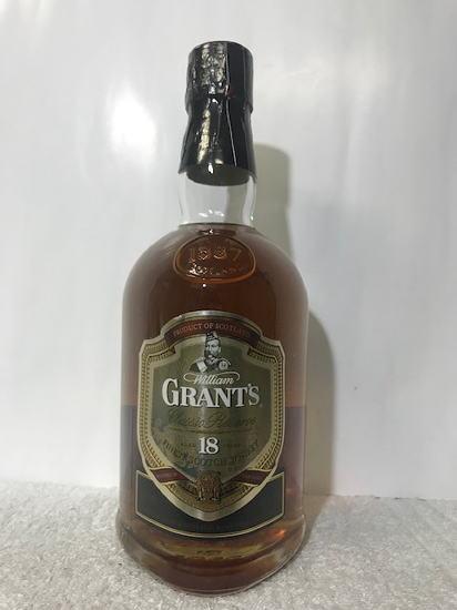 (正規品・終売品・レア・大古酒) 正規品。(メルシャン) GRANT'S 18YEARS グランツ 18年 40度 700ml 箱無