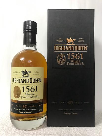 (HIGHLAND QUEEN 1561 AGED 30 YEARS) ハイランド クイーン 1561 30年 40度 700ml