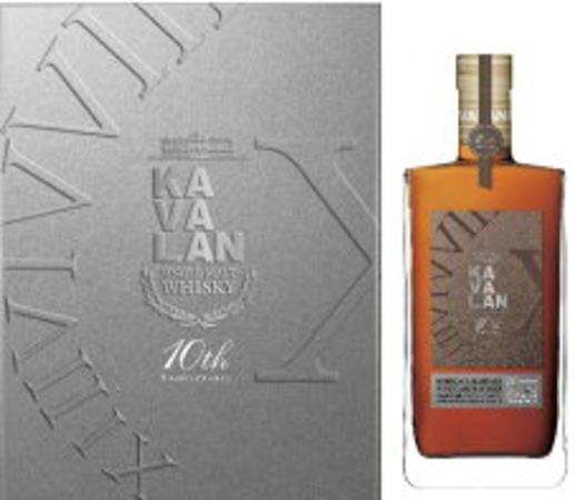 KVL カバラン ボルドーマルゴー ワインカスクシングルモルト クリスタルグラスセット 1L