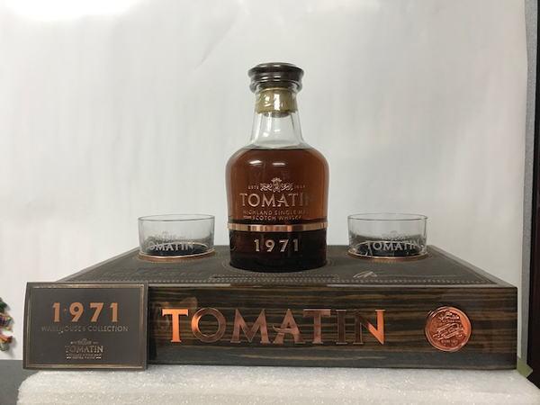 全国限定20本 トマーティン ウェアハウス6 コレクション 1971 44YO 700ml