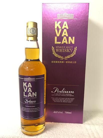 [送料無料のお買い得!!(一部地域は送料がかかります。)] (正規品)(KAVALAN Podium) カヴァラン(カバラン) ポーディアム シングルモルト ウイスキー 46度 700ml 豪華化粧箱入り