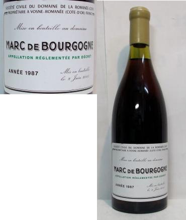 ドメーヌ ロマネコンティ (DRC)1987 マール ドゥ ブルゴーニュ