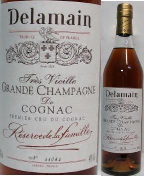 デラマン レゼルヴ ド ファミーユ オールドボトル 木箱付き Delamain Reserve de la Famille Cognac 43度 700ml (フランス-コニャック・ブランデー)