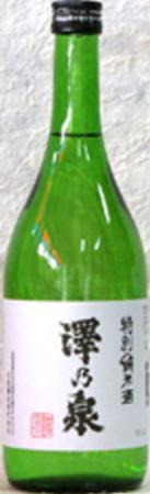 1ケースで送料無料のお買い得!!石越醸造 澤乃泉 特別純米酒 720ml×12本【0501_free_f】