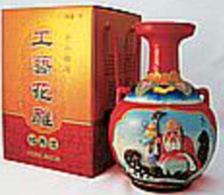 彩壜浮彫酒 [ラッパ口] 15度 1L ×6本