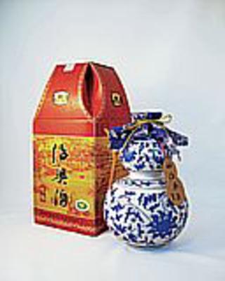 越王台陳年 8年花彫酒ひょうたん 16度 500ml×12本