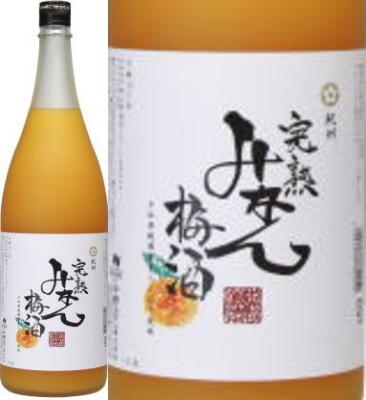紀州 完熟みかん梅酒 12度 1800ml×6本