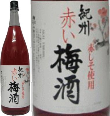 紀州 赤い梅酒 12度 1800ml×6本