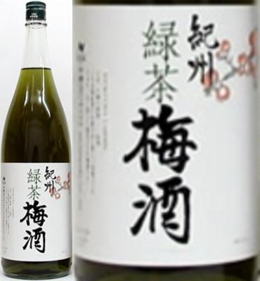 紀州 緑茶梅酒 12度 1800ml×6本