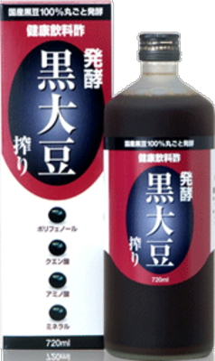 6本で送料無料のお買い得!! 堤酒造 発酵黒大豆搾り 720ml×6本
