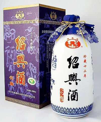 越王台陳年12年花彫酒 [白磁] 16度 500ml×12本