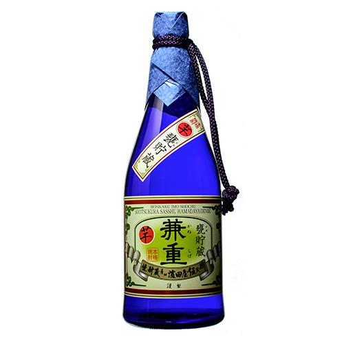 ×6 甕貯蔵 兼重 本格芋焼酎 25度 720ml瓶×6本 濱田酒造 伝兵衛蔵(鹿児島) かめちょぞう かねしげ