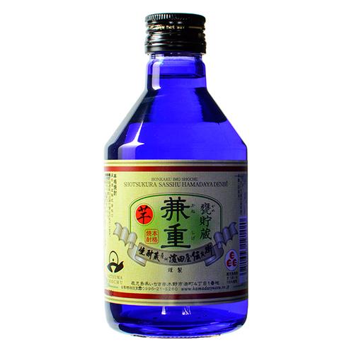 ×20 甕貯蔵 兼重 本格芋焼酎 25度 300ml瓶×20本 濱田酒造 伝兵衛蔵(鹿児島) かめちょぞう かねしげ