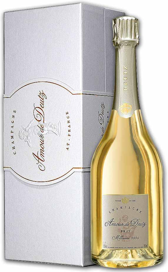 シャンパーニュ ドゥーツ キュヴェ・アムール・ド・ドゥーツ [2005] 専用箱付き 白 750ml 並行(フランス スパークリング・ワイン)