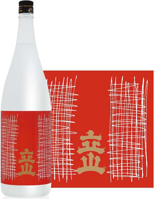 ケース買いで送料無料のお買得!! 立山 吟醸 1800ml×6本 立山酒造(富山県) 日本酒 清酒 1.8L