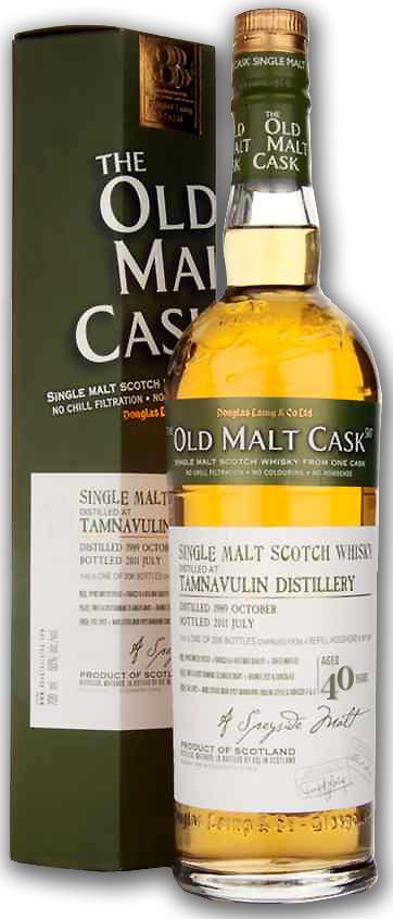 ダグラスレイン タムナブーリン 40年 Distilled 1968 化粧箱付 42.2度 700ml