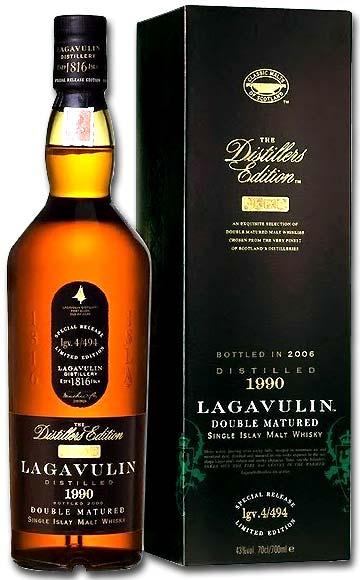ラガヴーリン ダブルマチュアード ディスティラーズ・エディション [1990] 専用化粧箱付き 43度 700ml ラガブーリン (シングル・アイラ・モルト・ウイスキー)