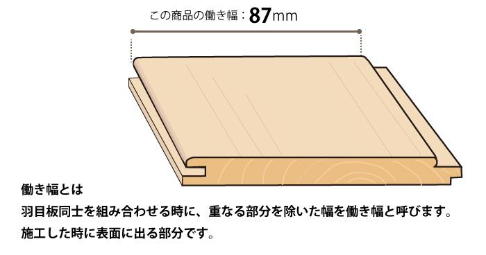 桧 羽目板 ヒノキ無節  壁材(木材 10×87×1985 17枚入り)3束(51枚)セット(約2.7坪分)日曜大工DIYに【桧・3.5寸・ホ】