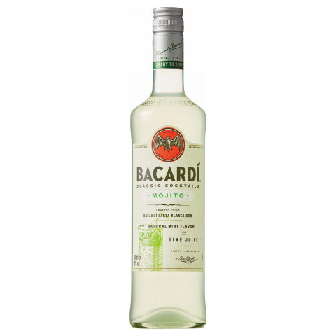 ★ Bacardi classic cocktails Mojito 700 ml degrees 18%