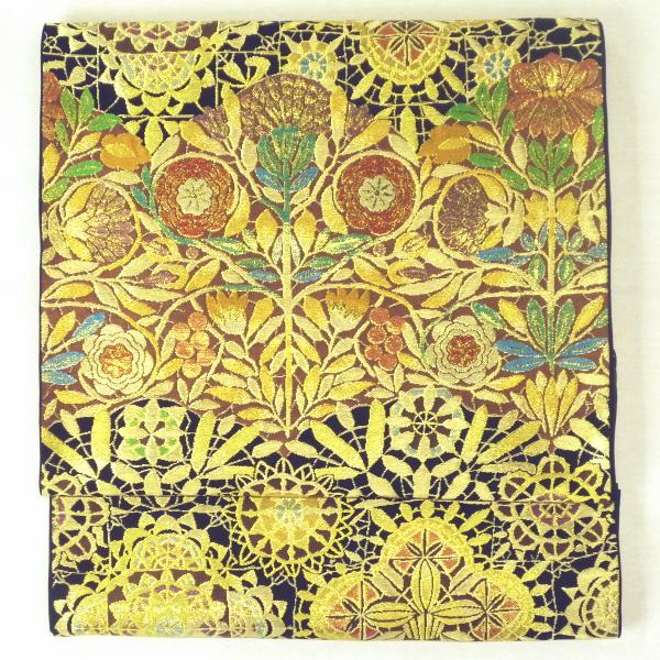 川島織物 錦袋帯 〔透花飾文〕