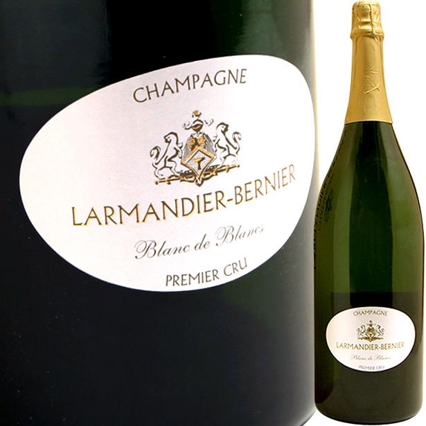シャンパーニュ ブラン・ド・ブラン EX・ブリュット 1級畑 3,000ml [N.V.] ラルマンディエ・ベルニエJéroboams de Champagne Extra-Brut Blanc de Blancs Premier Cru 3,000ml