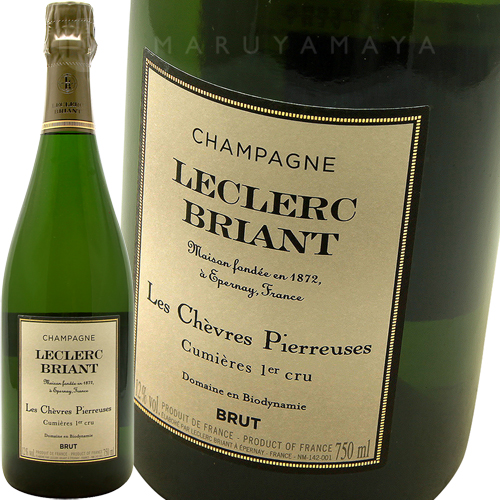 レ・シュヴレ・ピエルーズ [2009] ルクレール・ブリアンLeclerc Briantt Les Chevres Pierreuses 2009