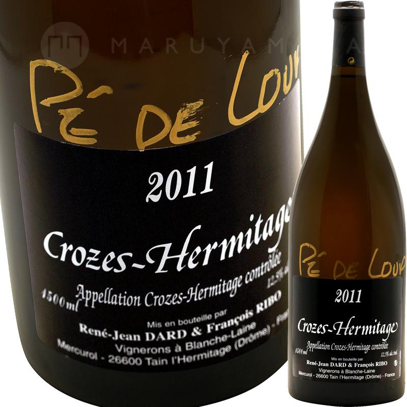 クローズ・エルミタージュ・ブラン ペ・ド・ルー 1,500ml(マグナム) [2011] ダール・エ・リボDard & Ribo Crozes Hermitage Blanc Pe de Loup 1.5L Magnum