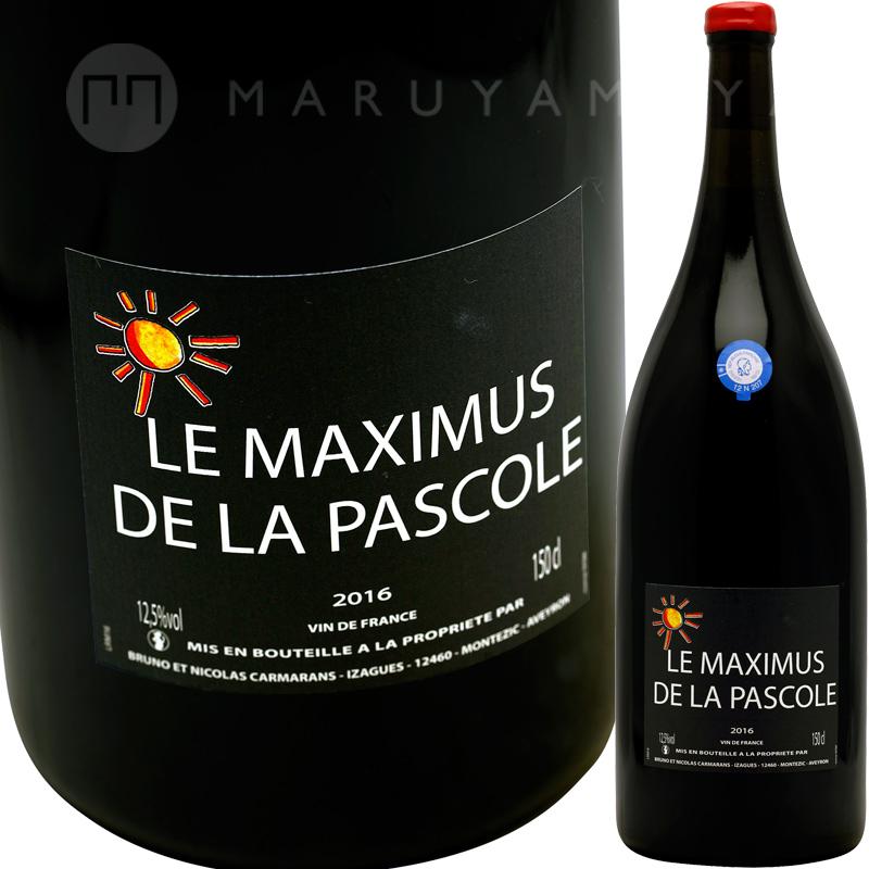 ル・マキシミュス・ド・ラ・パスコル 1,500ml [2016] ブルーノ・エ・ニコラ・カルマランBruno et Nicolas Carmarans Le Maximus de la Pascole Magnum