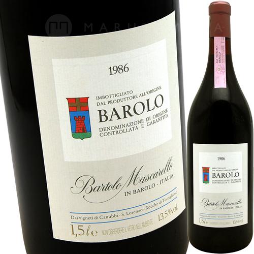 バローロ 1500ml [1986] バルトロ・マスカレッロBartolo Mascarello Barolo MAG