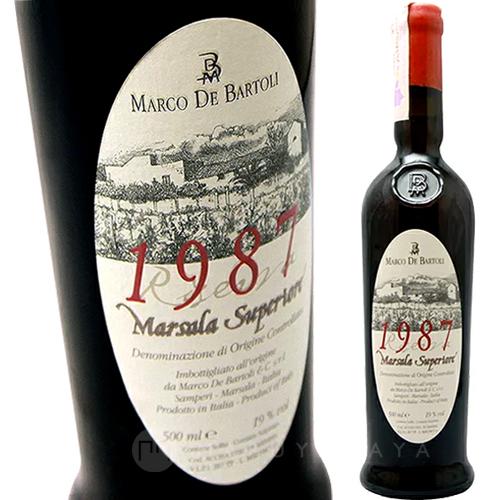 マルサーラ・スペリオーレ リゼルヴァ [1987]マルコ・デ・バルトリMarsala Superiore 1987 De Bartoli