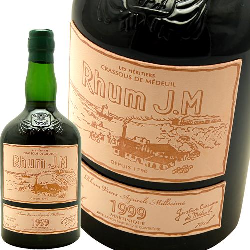 ラム・オル・ダージュ 42.6% [1999] ラム・ジェイ・エムRhum J.M. Rhum Hors d'Age 4.6% 1999