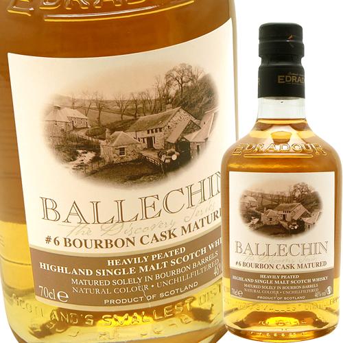 バレッヒェン・バーボン・マチュアード 6thリリース 46%(エドラダワー蒸留所)Bourbon Matured 6th 46% Edradour Ballechin