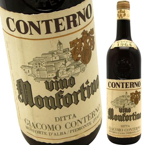 新作商品 バローロ・リゼルヴァ・モンフォルティーノ [1985] ジャコモ・コンテルノGiacomo Conterno Barolo Riserva Monfortino, 吉田郡 59cec2c1