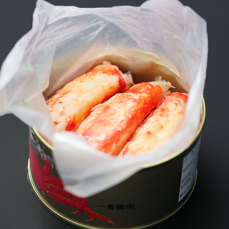 King crab stick meat refill can (first leg 100%) (115 g cans) 24 cans