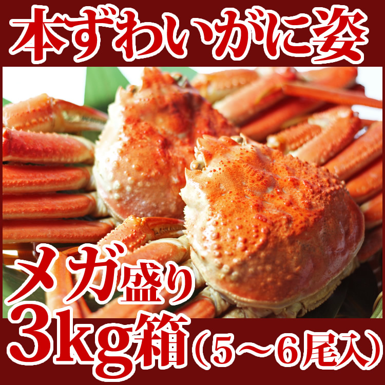 3 kg of box (entering 5-6) Rakuten delicacy meeting Mitsukoshi Isetan Nihonbashi head office Odakyu Takashimaya Tobu Ikebukuro, Shinjuku Yokohama Nagoya Umeda, Osaka Hakata Hankyu Hanshin Department Store in the bloom of snow crab figure mega