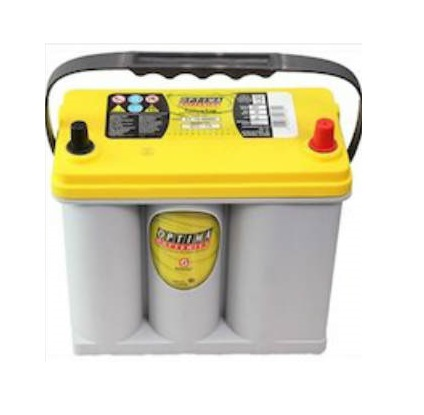 大規模セール 送料無料 OPTIMA BATTERIES オプティマバッテリー 国産車バッテリー 80B24L沖縄 高品質 離島は配送不可 イエロートップ YellowTop