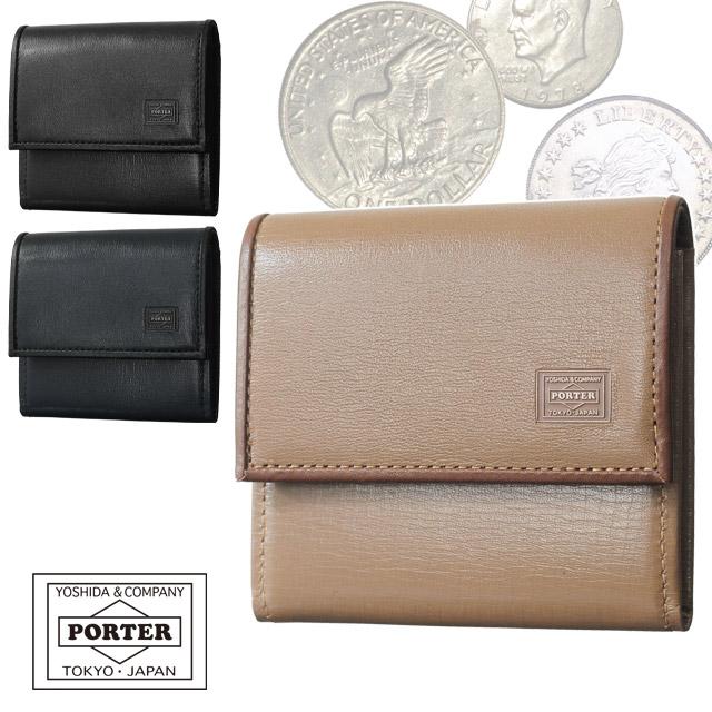 吉田カバン ポーター プリュム 財布 コインケース 小銭入れ ボックス型 全3色 PORTER PLUME 179-03875