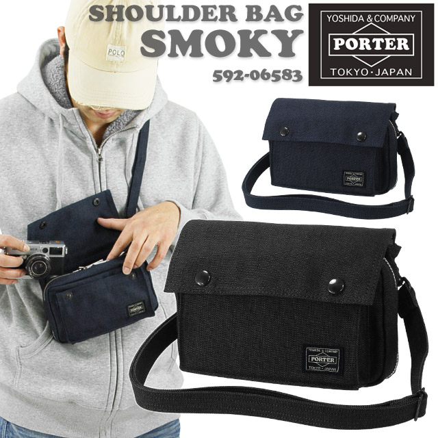 f4bfe81d59b Porter smoky shoulder bag Pochette [592-06583]
