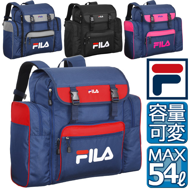 43 54 liters of camp school rucksack FILA Fila knapsack large capacity large size rucksack school excursions cute 7369