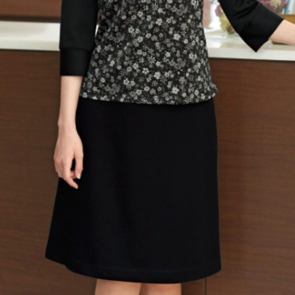 事務服 51853 Aラインスカート 55cm en joie 株式会社ジョア アンジョア