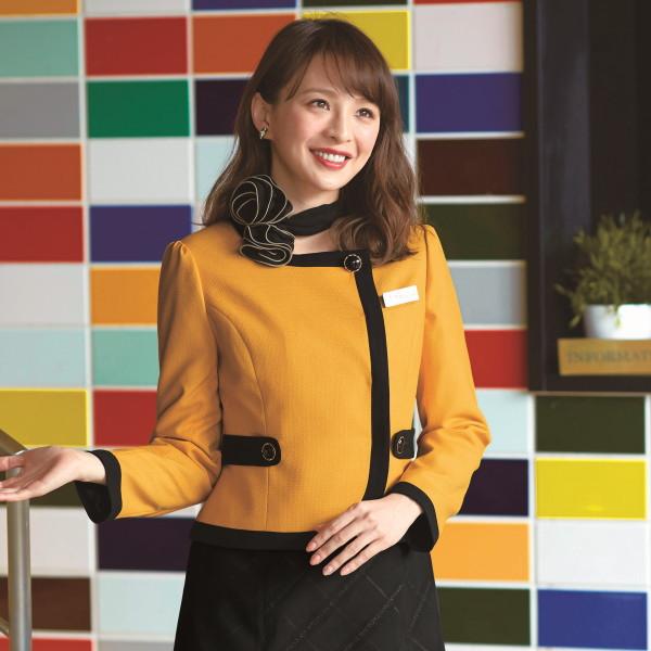 81830 ジャケット ユニフォーム 事務服 制服 en joie 株式会社ジョア アン ジョア
