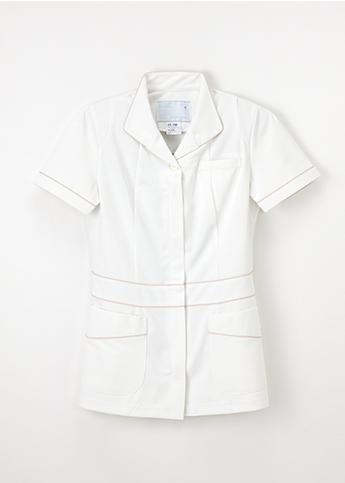 ATL-1092 女性 アツロウタヤマ 白衣 ナガイレーベン 女子 上衣 半袖 医療 医療白衣 看護白衣 ATL1092