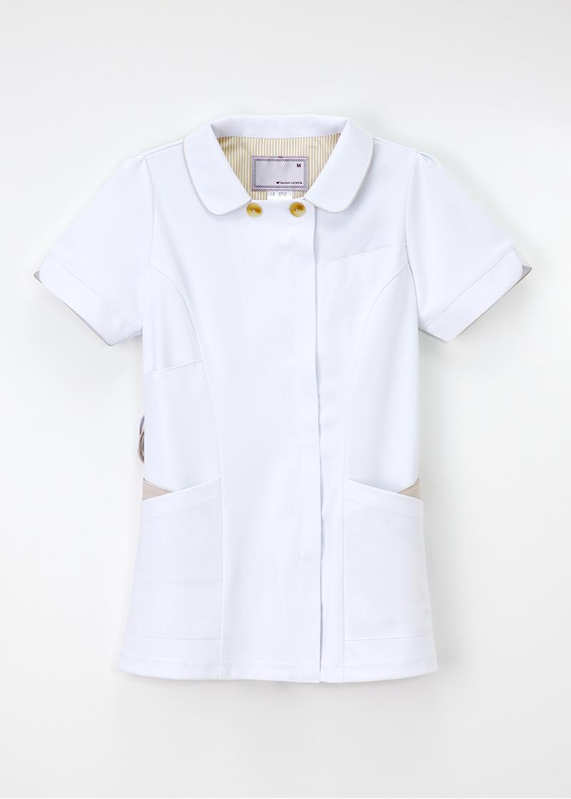 LX-3712 女性 チュニック 半袖 ナガイレーベン 医療 Naway ナウェイ 医療白衣 看護白衣 ナガイNAGAILEBEN LX3712