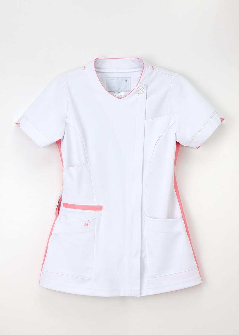 LX-4082 女性 チュニック 半袖 ナガイレーベン 医療 Naway ナウェイ 医療白衣 看護白衣 ナガイNAGAILEBEN LX4082