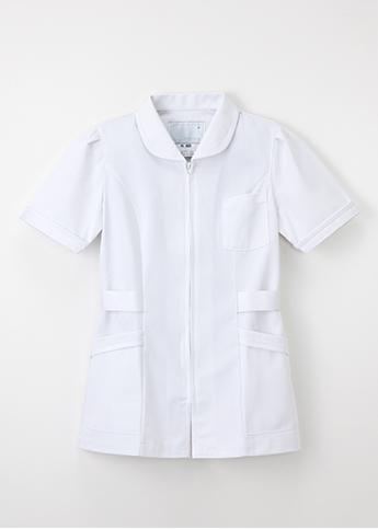 MI-4632 女性 チュニック 半袖 ナガイレーベン 医療 Naway ナウェイ 医療白衣 看護白衣 ナガイNAGAILEBEN MI4632