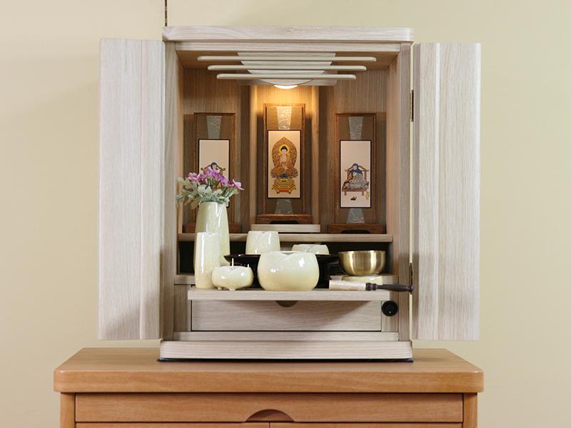 上置 モダン仏壇 送料無料 仏壇のみ 上置仏壇 16号ナチュラル 限定価格セール 安い 激安 プチプラ 高品質