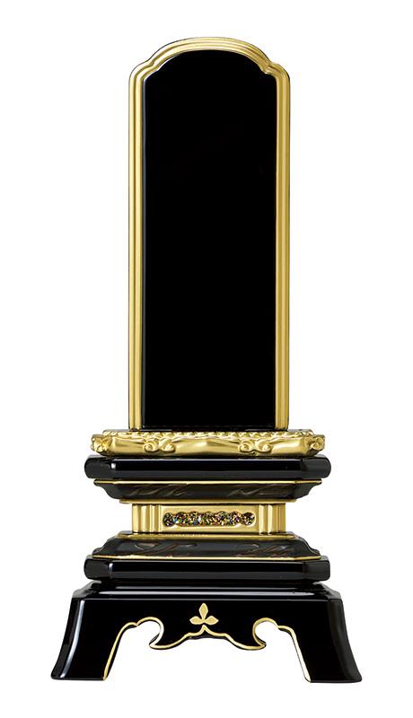 位牌 純面粉 舗 超特価SALE開催 角切葵 1名様名入れ込 本金K 4.5寸