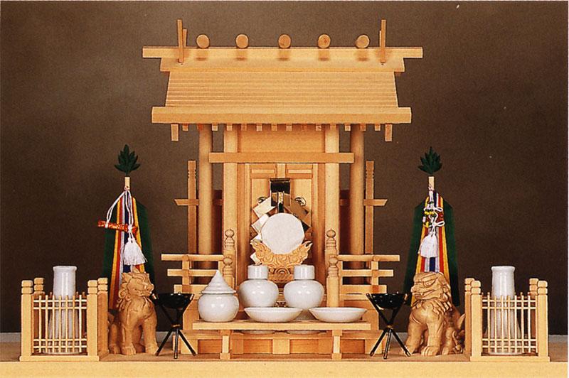 【送料無料】神棚 飛騨神明一社(木曽ひのき)11-12高級神棚 お札 御札 高級
